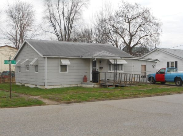 2 bed 1 bath Single Family at 12 W Oak St Washington, IN, 47501 is for sale at 24k - google static map