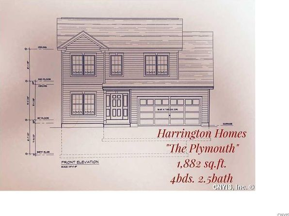 4 bed 3 bath Single Family at  Forest View Ln Manlius, NY, 13116 is for sale at 306k - google static map