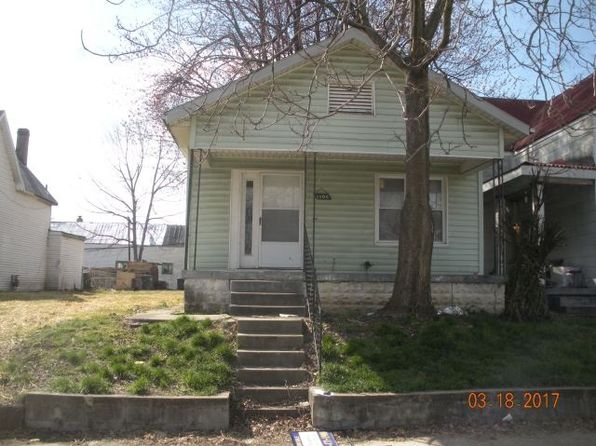 2 bed 1 bath Single Family at 1106 N 4th Ave Evansville, IN, 47710 is for sale at 14k - 1 of 6
