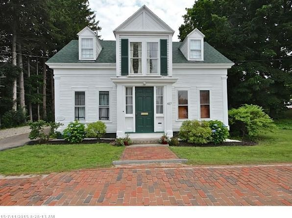 4 bed 2 bath Single Family at 417 MAIN ST SACO, ME, 04072 is for sale at 215k - 1 of 21