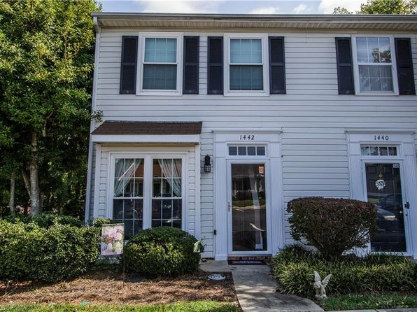 2 bed 3 bath Townhouse at 1442 Bailey Cir High Point, NC, 27262 is for sale at 76k - 1 of 20