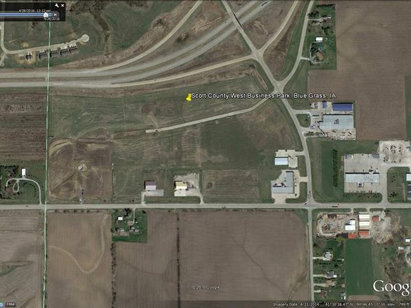 null bed null bath Vacant Land at  Industrial Dr Blue Grass, IA, 52726 is for sale at 65k - 1 of 9