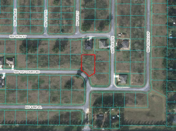 null bed null bath Vacant Land at  NW 1st Court Rd Ocala, FL, 34475 is for sale at 25k - 1 of 4