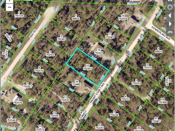 null bed null bath Vacant Land at  Snowy Egret Ave Royal Highlands Blk442 Lot15 Weeki Wachee, FL, 34614 is for sale at 9k - google static map