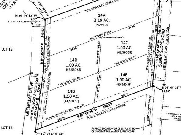 null bed null bath Vacant Land at 541 Sunny Slope Rd Liberty Hill, TX, 78642 is for sale at 100k - google static map