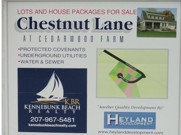 null bed null bath Vacant Land at 7 Chestnut Ln Kennebunk, ME, 04043 is for sale at 119k - google static map