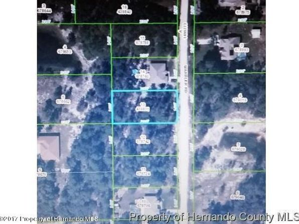 null bed null bath Single Family at 0 Warbler Rd Weeki Wachee, FL, 34613 is for sale at 12k - google static map