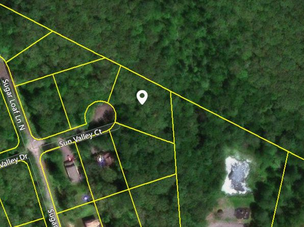 null bed null bath Vacant Land at  Sun Valley Ct Tafton, PA, 18464 is for sale at 16k - google static map