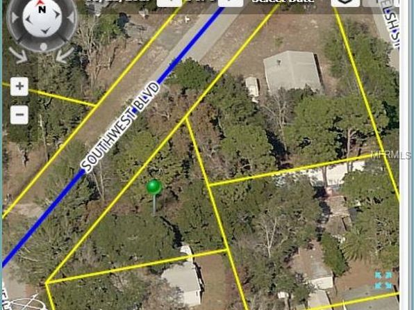 null bed null bath Vacant Land at  SOUTHWEST BLVD SPRING HILL, FL, 34606 is for sale at 8k - google static map