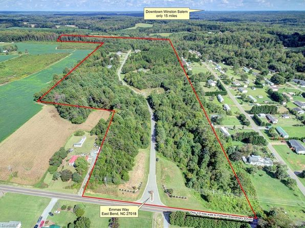 null bed null bath Vacant Land at 5.45 Ac Emmas Way East Bend, NC, 27018 is for sale at 48k - 1 of 12