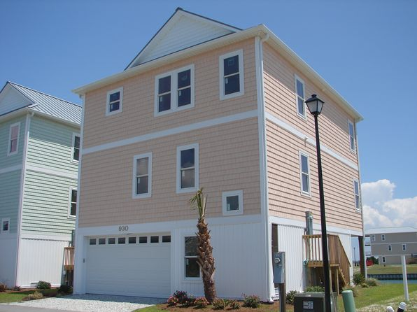 3 bed 3 bath Single Family at  930 Observation Lane Topsail Beach, NC, 28445 is for sale at 579k - 1 of 5