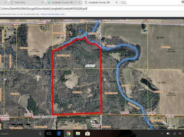 null bed null bath Vacant Land at ON Highland Rd Antigo, WI, 54409 is for sale at 139k - google static map