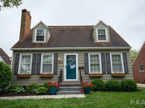 3 bed 2 bath Single Family at 322 N Kickapoo Ter Peoria, IL, 61604 is for sale at 120k - 1 of 30