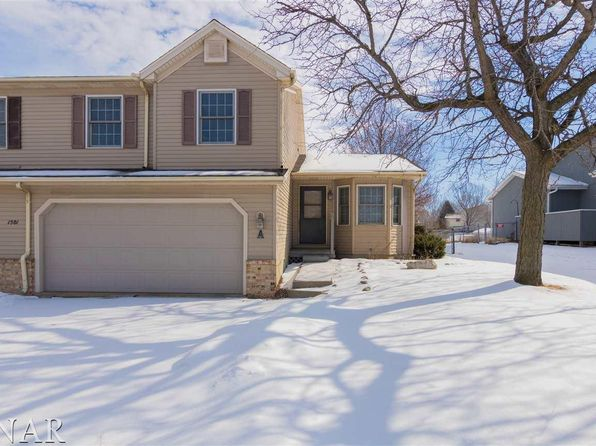 3 bed 2 bath Single Family at 1501 Oakbrook Dr Bloomington, IL, 61704 is for sale at 118k - 1 of 27