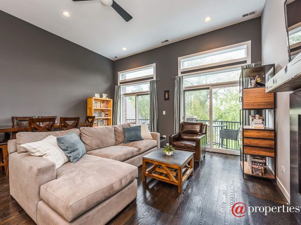 2 bed 2 bath Condo at 1720 N Talman Ave Chicago, IL, 60647 is for sale at 400k - 1 of 4