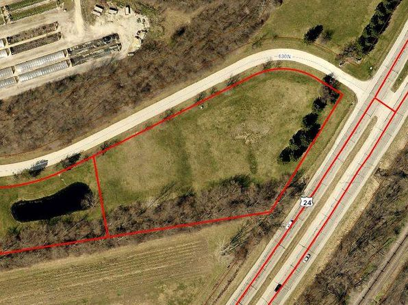 null bed null bath Vacant Land at 15 N US 24 E Huntington, IN, 46750 is for sale at 35k - 1 of 5
