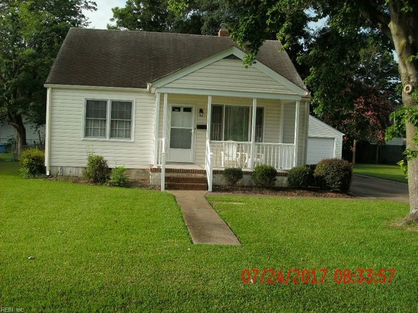 2 bed 1 bath Single Family at 203 Hanbury Ave Portsmouth, VA, 23702 is for sale at 110k - google static map