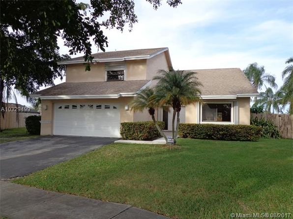 4 bed 3 bath Single Family at 9831 SW 6th St Pembroke Pines, FL, 33025 is for sale at 365k - 1 of 33