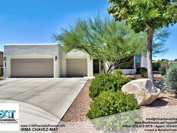 3 bed 3 bath Single Family at 1155 Puerta De Picacho Las Cruces, NM, 88007 is for sale at 325k - 1 of 45