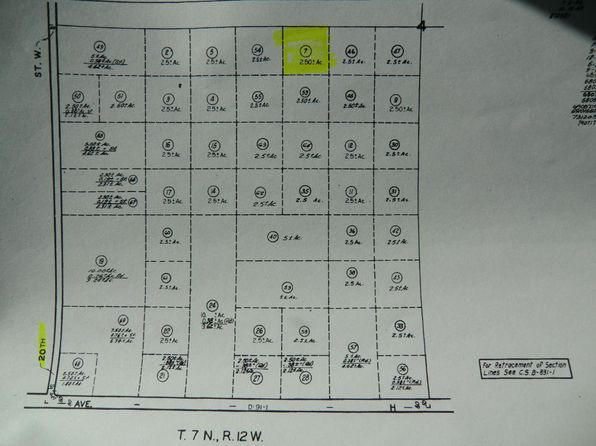 null bed null bath Vacant Land at  Vic Avenue G8/15 Stw Caliche, CA, 93534 is for sale at 55k - 1 of 10