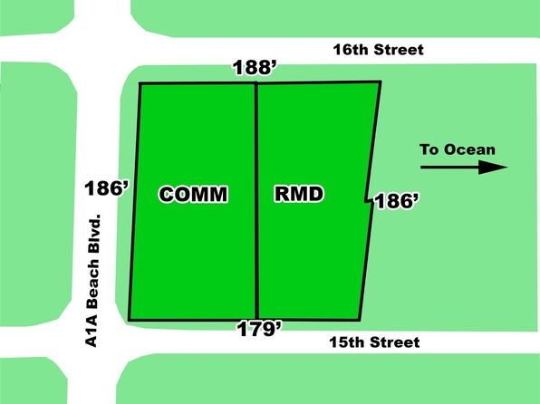 null bed null bath Vacant Land at 400 A1a Beach Blvd St Augustine Beach, FL, 32080 is for sale at 2.50m - 1 of 3