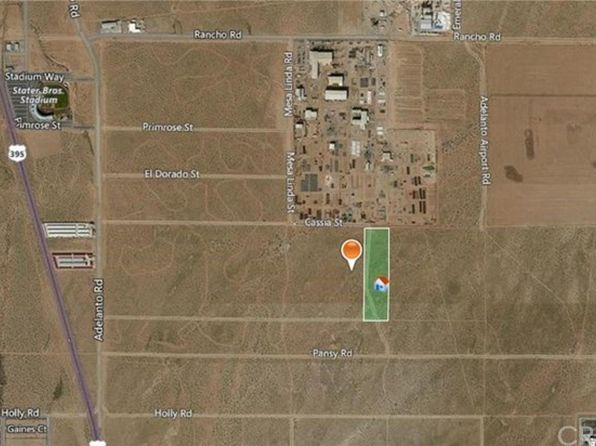 null bed null bath Vacant Land at  Cassia E/ Mesa Linda St Adelanto, CA, 92301 is for sale at 430k - 1 of 5