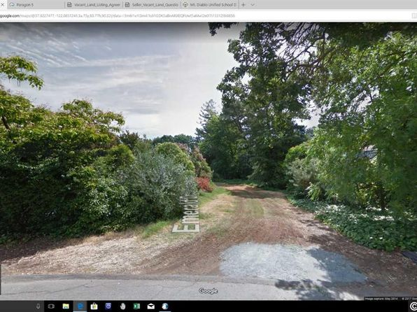 null bed null bath Vacant Land at 2838 Emerald Dr Walnut Creek, CA, 94597 is for sale at 300k - google static map