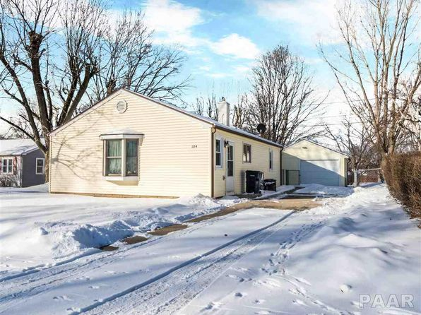 3 bed 1 bath Single Family at 104 Rogers Rd Marquette Heights, IL, 61554 is for sale at 85k - 1 of 24