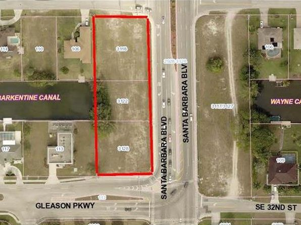 null bed null bath Vacant Land at 3128 SE Santa Barbara Pl Cape Coral, FL, 33904 is for sale at 325k - 1 of 7