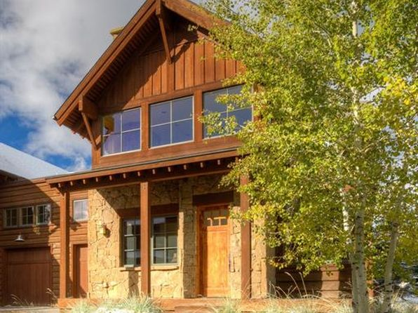 3 bed 2.5 bath Condo at 5 Trotwood Circle Lone Peak Townhomes Big Sky, MT, 59716 is for sale at 609k - 1 of 25
