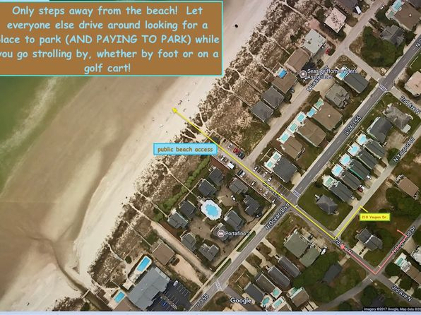 null bed null bath Vacant Land at 218 N YAUPON DR SURFSIDE BEACH, SC, 29575 is for sale at 600k - 1 of 13