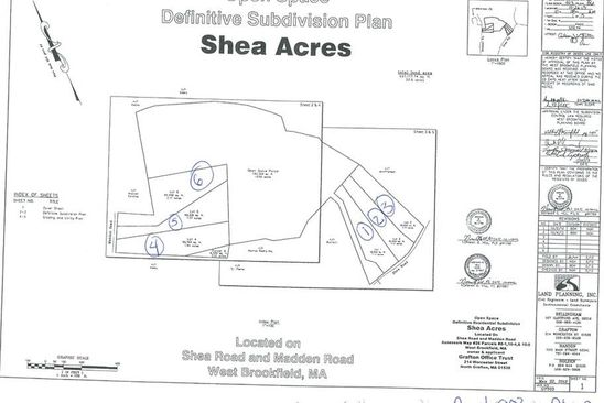null bed null bath Vacant Land at  Lot 1 Shea Rd West Brookfield, MA, 01585 is for sale at 45k - google static map