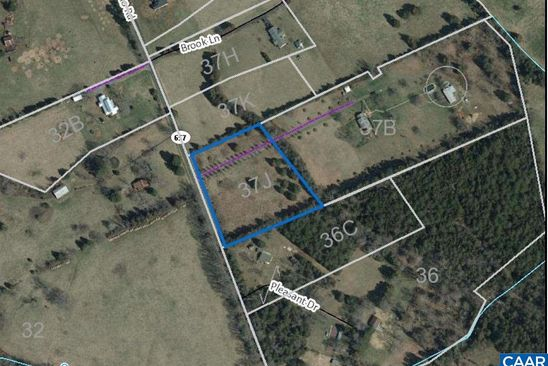 null bed null bath Vacant Land at  Albano Rd Lot: 37j Barboursville, VA, 22923 is for sale at 50k - google static map