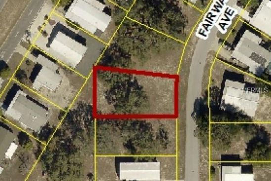 null bed null bath Vacant Land at 12542 Fairway Ave Brooksville, FL, 34613 is for sale at 8k - google static map