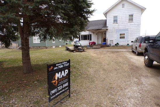 4 bed 1 bath Single Family at 315 W MAPLE AVE BANCROFT, MI, 48414 is for sale at 80k - google static map