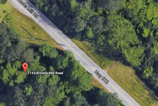 null bed null bath Vacant Land at 7135 Browns Mill Rd Lithonia, GA, 30038 is for sale at 20k - google static map