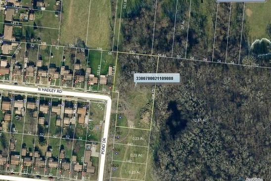 0 bed null bath Vacant Land at 1760 POND DR SPRINGFIELD, OH, 45505 is for sale at 14k - google static map