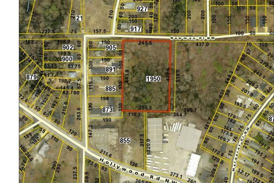 null bed null bath Vacant Land at 1950 Newman Pl NW Atlanta, GA, 30318 is for sale at 390k - google static map