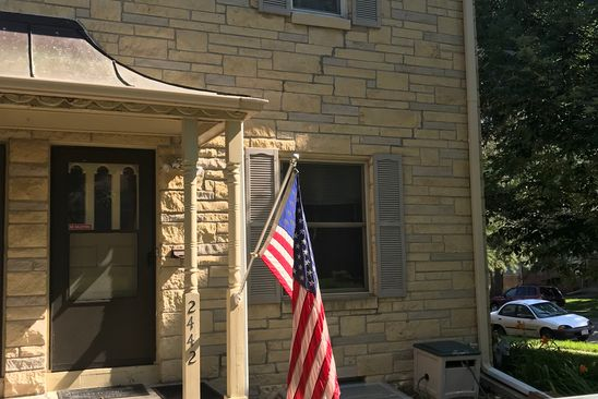 2 bed 1 bath Townhouse at 2442 A ST LINCOLN, NE, 68502 is for sale at 75k - google static map