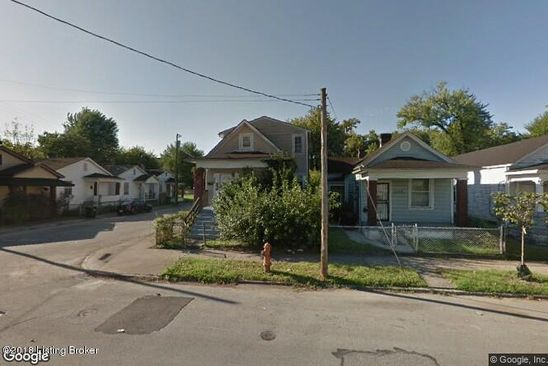 5 bed 2 bath Single Family at 1700 W BRECKINRIDGE ST LOUISVILLE, KY, 40210 is for sale at 39k - google static map