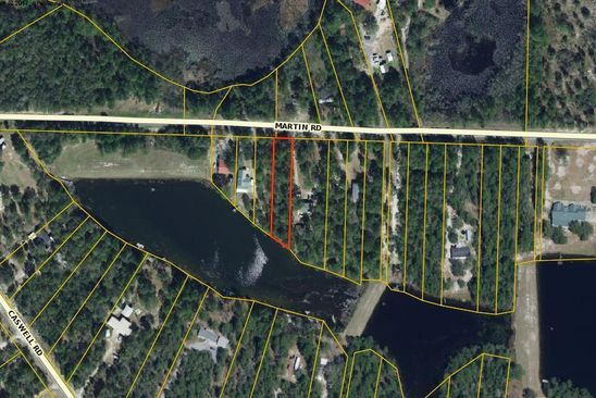 null bed null bath Vacant Land at .42AC. Martin Rd Defuniak Springs, FL, 32433 is for sale at 14k - google static map