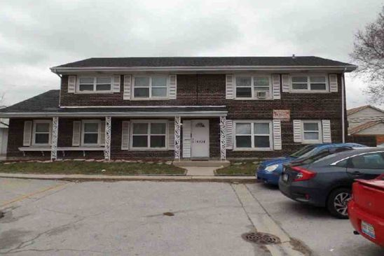 8 bed 5 bath Multi Family at 14514 Cottage Grove Ave Dolton, IL, 60419 is for sale at 125k - google static map