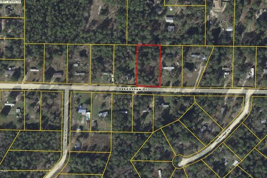 null bed null bath Vacant Land at 6811 Oakenshaw Dr Youngstown, FL, 32466 is for sale at 26k - google static map