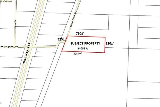 null bed null bath Vacant Land at 12515 GOLDEN ESTATE RD FOUNTAIN, FL, 32438 is for sale at 18k - google static map