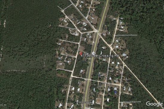 null bed null bath Vacant Land at 47736 DEER CROSSING RD ALTOONA, FL, 32702 is for sale at 13k - google static map