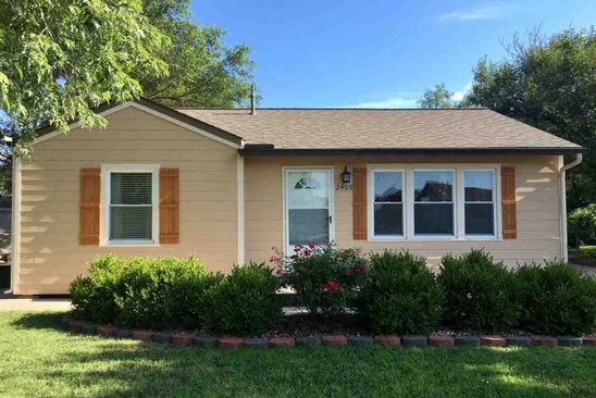2 bed 1 bath Single Family at 2409 W Crawford St Wichita, KS, 67217 is for sale at 79k - google static map