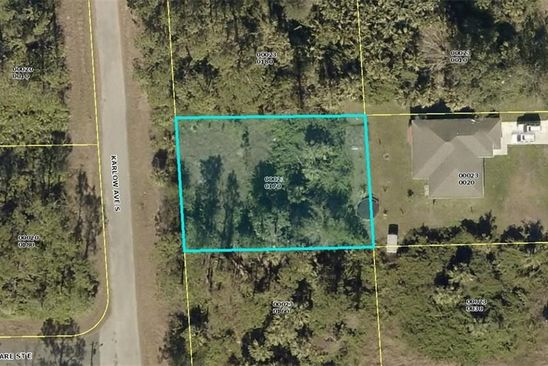 null bed null bath Vacant Land at 155 Karlow Ave Lehigh Acres, FL, 33974 is for sale at 12k - google static map