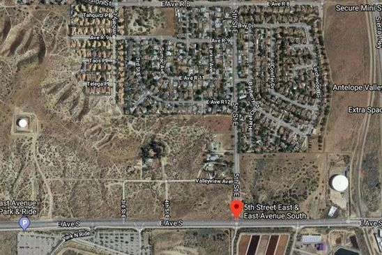 null bed null bath Vacant Land at 0 Cor 168 Palmdale, CA, 93591 is for sale at 49k - google static map