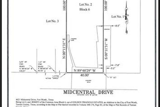 null bed null bath Vacant Land at 4261 Midcentral Dr Fort Worth, TX, 76244 is for sale at 50k - google static map