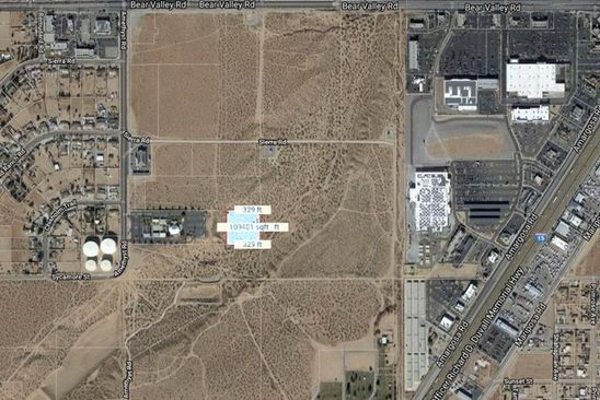 null bed null bath Vacant Land at 0 E Of Amethyst Rd Victorville, CA, 92392 is for sale at 200k - google static map